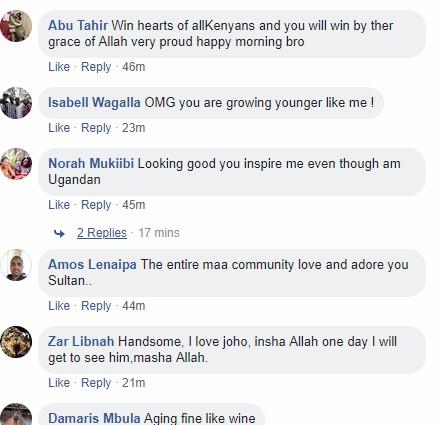 Reactions as flamboyant Joho enters social media's #10YearsChallenge
