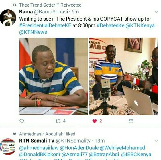 Is Raila a copycat?